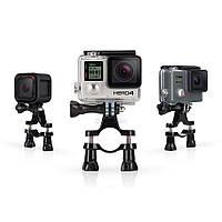 """Комплект креплений на руль / трубу вело седла """"Handlebar / Seatpost / Pole Mount"""" для камеры GoPro любого поколения (GRH30)"""