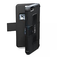 Композитный, защитный чехол UrbanArmor Gear с отсеком под пластиковые карты, Folio Case Scout Black для iPhone 6 Plus / 6S Plus - черный