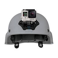 """Крепление на шлем, жесткой фиксации с быстросъёмным механизмом """"NVG Mount"""" для камеры GoPro любого поколения (ANVGM-001)"""