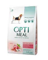 Optimeal (Оптимил) корм для собак средних пород с индейкой 1,5 кг