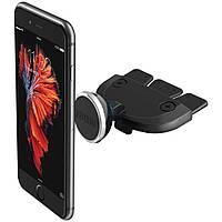 Магнитный автодержатель с креплением на панеле автомобиля в CD приводе, iOttie iTap Car Mount Magnetic CD Slot Holder для iPhone - черный (HLCRIO152)