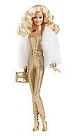 Кукла Barbie коллекционная Золотые мечты DGX88, фото 1