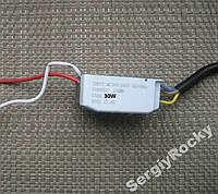 Драйвер 30W 200mA 100-150V светодиода на 30Вт Ватт