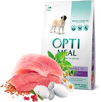 Optimeal (Оптимил) корм для собак мелких пород с уткой 4 кг