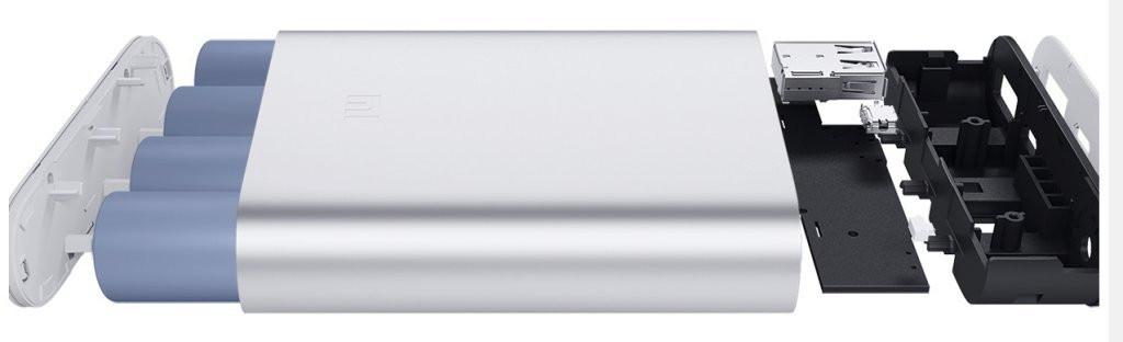 Внешний аккумулятор зарядка универсальная Power Bank XiaoMi 10400mAh Павер банк + бокс 8
