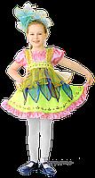Детский карнавальный костюм ЦВЕТОЧЕК-КОЛОКОЛЬЧИК Код 616