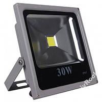 12V светодиодный прожектор 30W от аккумулятора 12В