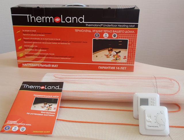 Мат нагревательный одножильный Thermoland LTM-С 2/330 (330 Вт)