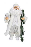 Дед Мороз с посохом 30,5 см. (F05W-RBW-S1A12ST) Angel Gifts