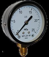 Манометр показывающий МТ-2У-М радиальный, 0...100 кПа, 2,5, фото 1
