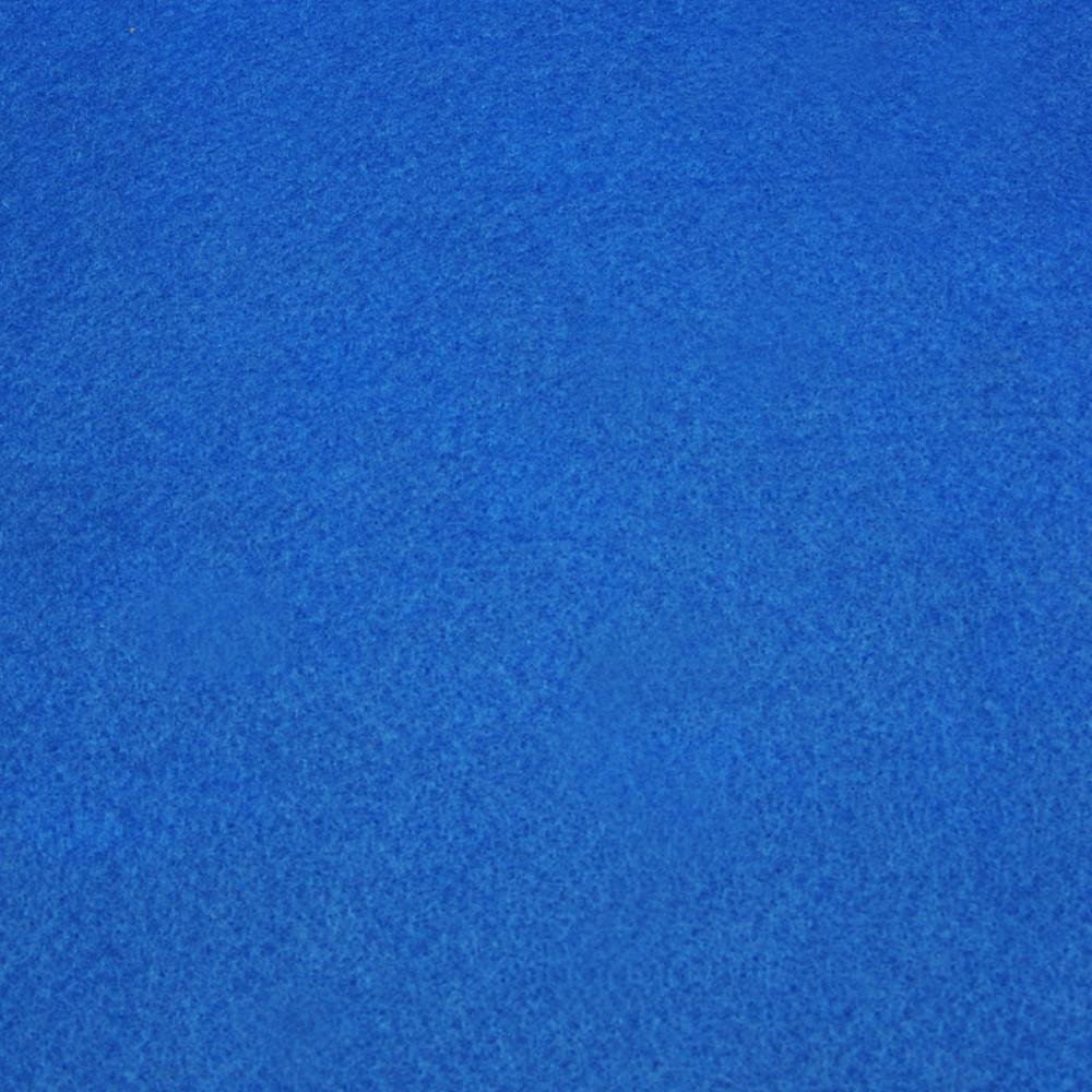 Фетр мягкий 1.3 мм, 20x30 см, СИНИЙ, Royal Тайвань