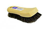Щетка с щетиной из конского волоса для очистки кожи