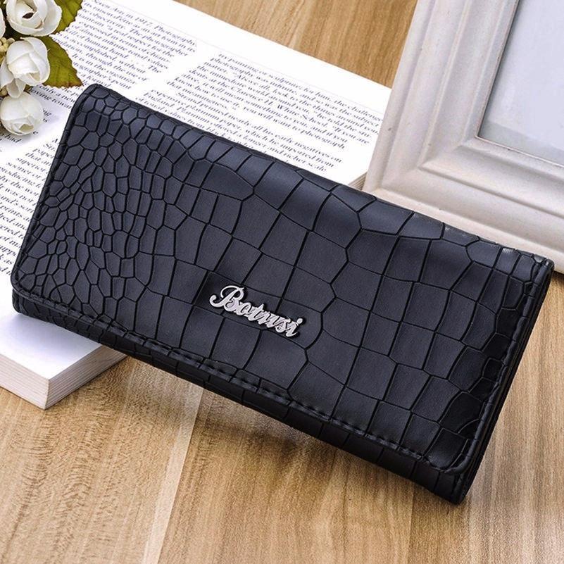 9090e53870a0 Женский длинный кошелек. Модный бренд женский клатч. Кожаный бумажник. СКЖ-4