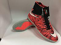 Бампы Nike серо-розовые, фото 1