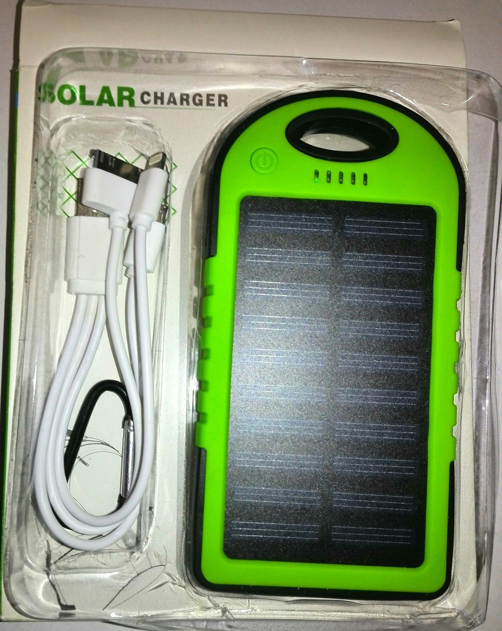 "Solar Charger Power Bank 10400 mAh + LED фонарь - Интернет-магазин ""БУМ"" в Харькове"