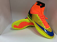 Бампы Nike Mercurial желто-оранжевые