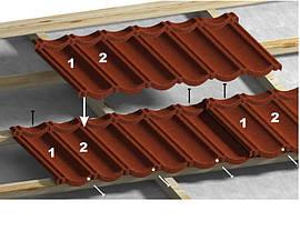 Монтаж композитной черепицы. Крыша «под ключ»., фото 3