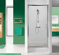 Дверь в нишу распашная 110 см Sanplast D2/TX5-110-S sbCR профиль хром, стекло матовое
