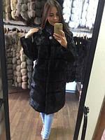 """Шуба из меха  нутрии """"Лиана"""" , 46/48 размер в наличии"""