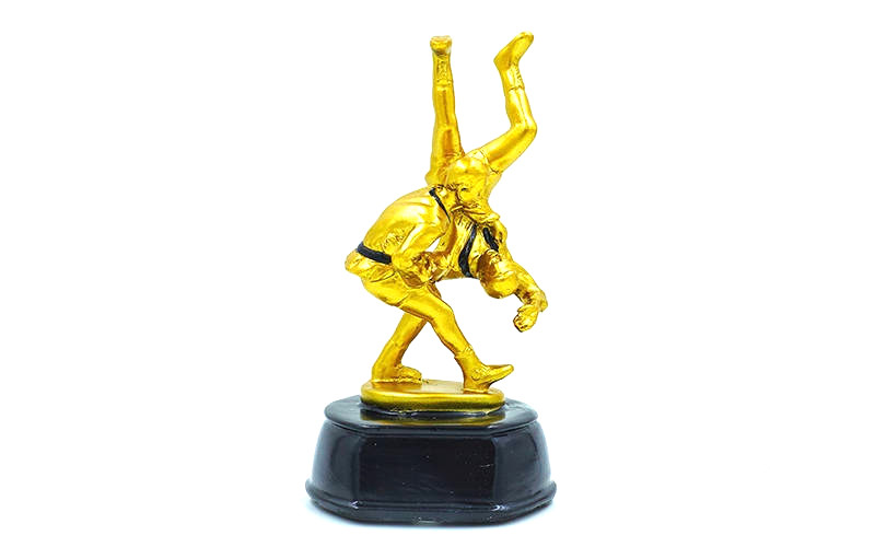 Статуэтка наградная Самбисты (17.5 см)
