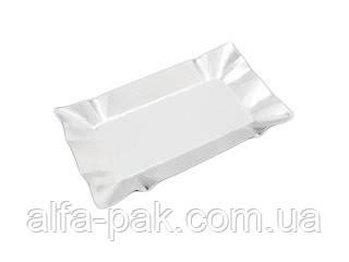 Тарелка картонная фольгированная  №15 (12х20), фото 2