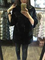 """Меховое пальто из меха нутрии """"Victoria"""" в наличии 44 размер."""