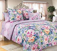 Семейный комплект постельного белья,  перкаль Влюбленность