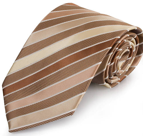 Эффектный мужской широкий галстук SCHONAU & HOUCKEN (ШЕНАУ & ХОЙКЕН) FAREPS-55 бежевый