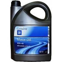 Оригинальное моторное масло General Motors 10W-40 5 Liter