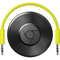 Цифровой медиаплеер Google Chromecast 2.0, Audio - Black (RUX-J42)