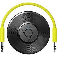 Цифровой, аудио медиаплеер Google Chromecast Audio - чёрный (GA3A00147-A14)