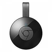 Цифровой медиаплеер Google Chromecast Video, второе поколение - чёрный (1080p / 30 FPS) (GA3A00093-A14)