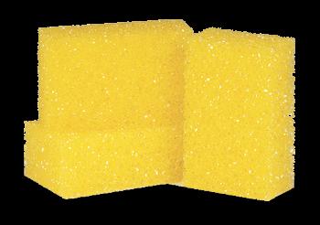 Губка жёлтая повышенной плотности Koch Chemie FliegenSchwamm Hart, фото 2