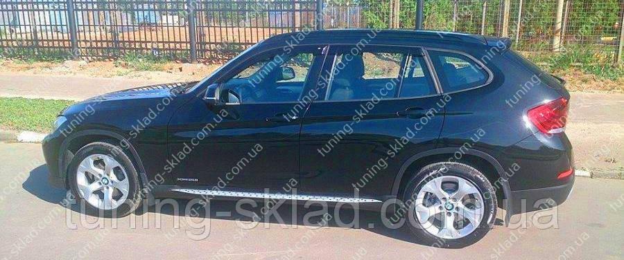 Ветровики окон БМВ Х1 Е84 (дефлектор боковых окон BMW X1 E84)