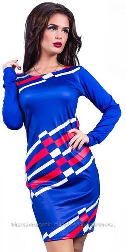 Платье женское полосы