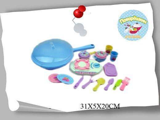 Набор игрушек посуда пластиковая  SH-P3