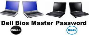 BIOS Dell мастер-пароль 1D3B, 2A7B, A95B, 595B, 1F5A, 3A5B