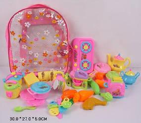 Оригинальный подарок для девочки набор посуды игрушечной ZD781-1 купить в Харькове
