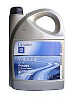 Оригинальное моторное масло General Motors DEXOS 2 5W-30 5 Liter