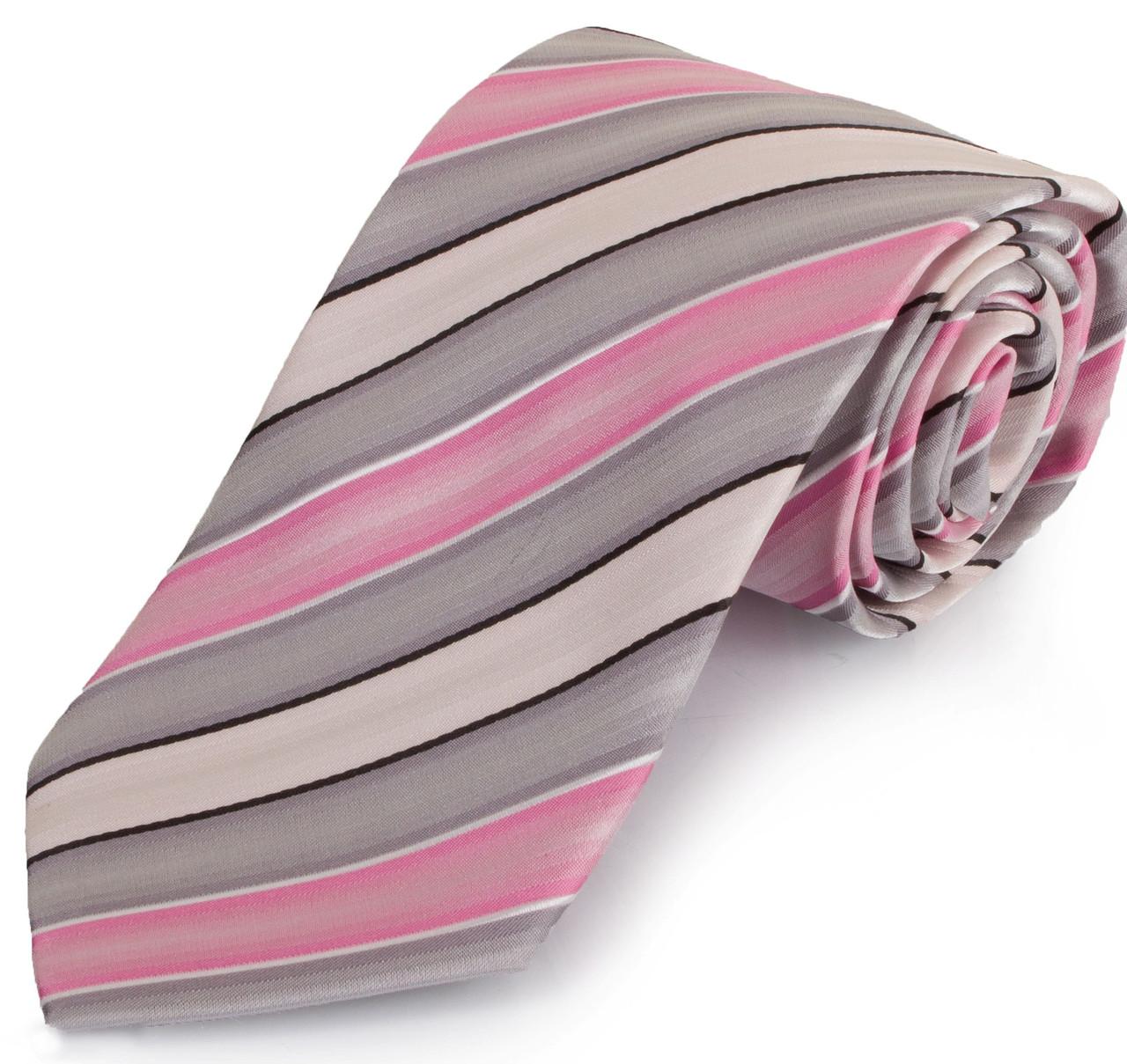 Різнобарвний чоловічий широкий галстук SCHONAU & HOUCKEN (ШЕНАУ & ХОЙКЕН) FAREPS-58