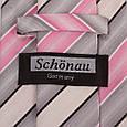 Різнобарвний чоловічий широкий галстук SCHONAU & HOUCKEN (ШЕНАУ & ХОЙКЕН) FAREPS-58, фото 3
