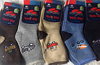 Махровые подростковые носки Корона 26-31 26-31, Для мальчиков, Разные цвета, Бамбук