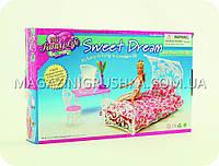 Детская игрушечная мебель Глория Gloria для кукол Барби Спальня 2814. Обустройте кукольный домик