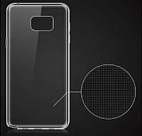 Силиконовый чехол 0,33 мм для Samsung Galaxy Note 5 прозрачный