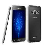Силиконовый чехол 0,33 мм для Samsung J120F Galaxy J1 (2016) прозрачный