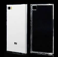 Силиконовый чехол 0,33 мм для Xiaomi Mi Max 2  прозрачный