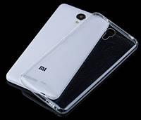 Силиконовый чехол 0,33 мм для Xiaomi Redmi Note 2 / Redmi Note 2 Prime прозрачный