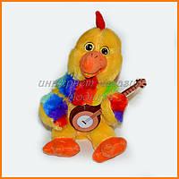 Механическая игрушка Цыпленок с гитарой 30 см