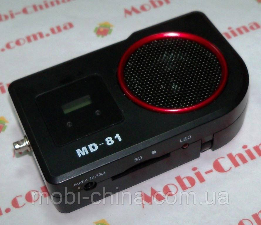 Портативная колонка-радио MD-81 MP3 SD USB FM