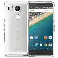 Силиконовый чехол 0,33 мм для LG Google Nexus 5x прозрачный